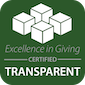 Excellence in Giving Accredited Badge